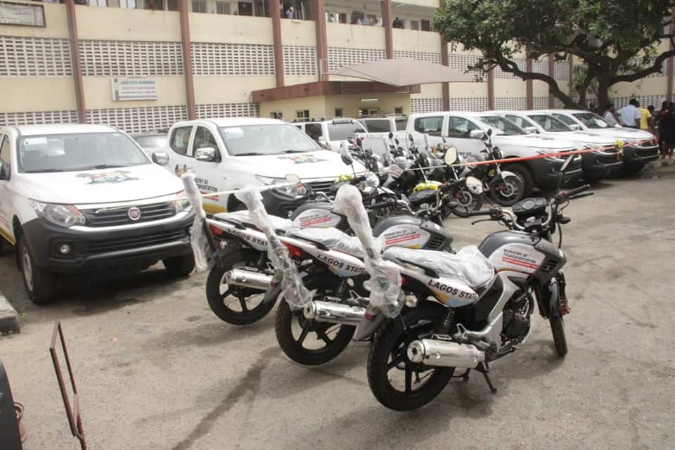 LASG Acquires New Vehicles, Motorbikes To Combat Traffic Gridlocks (Photos) - Brand Spur