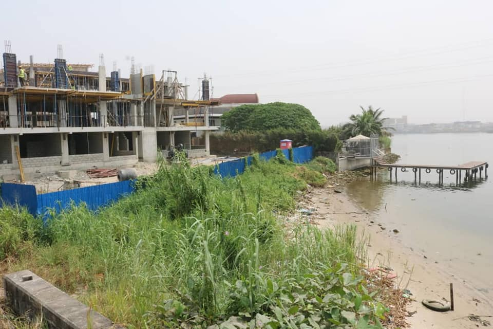 LASG goes tough on illegal Waterfront Land Reclamation, arrests fourteen (Photos)