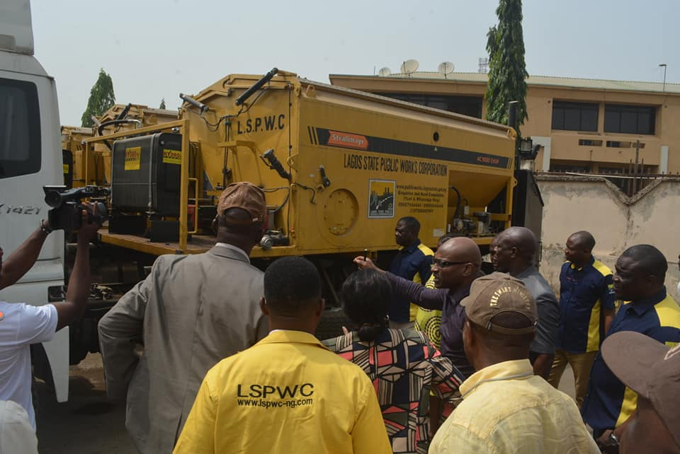 Lagos plans to uplift Public Works; Commends LSPWC on Zero Tolerance for Potholes Implementation