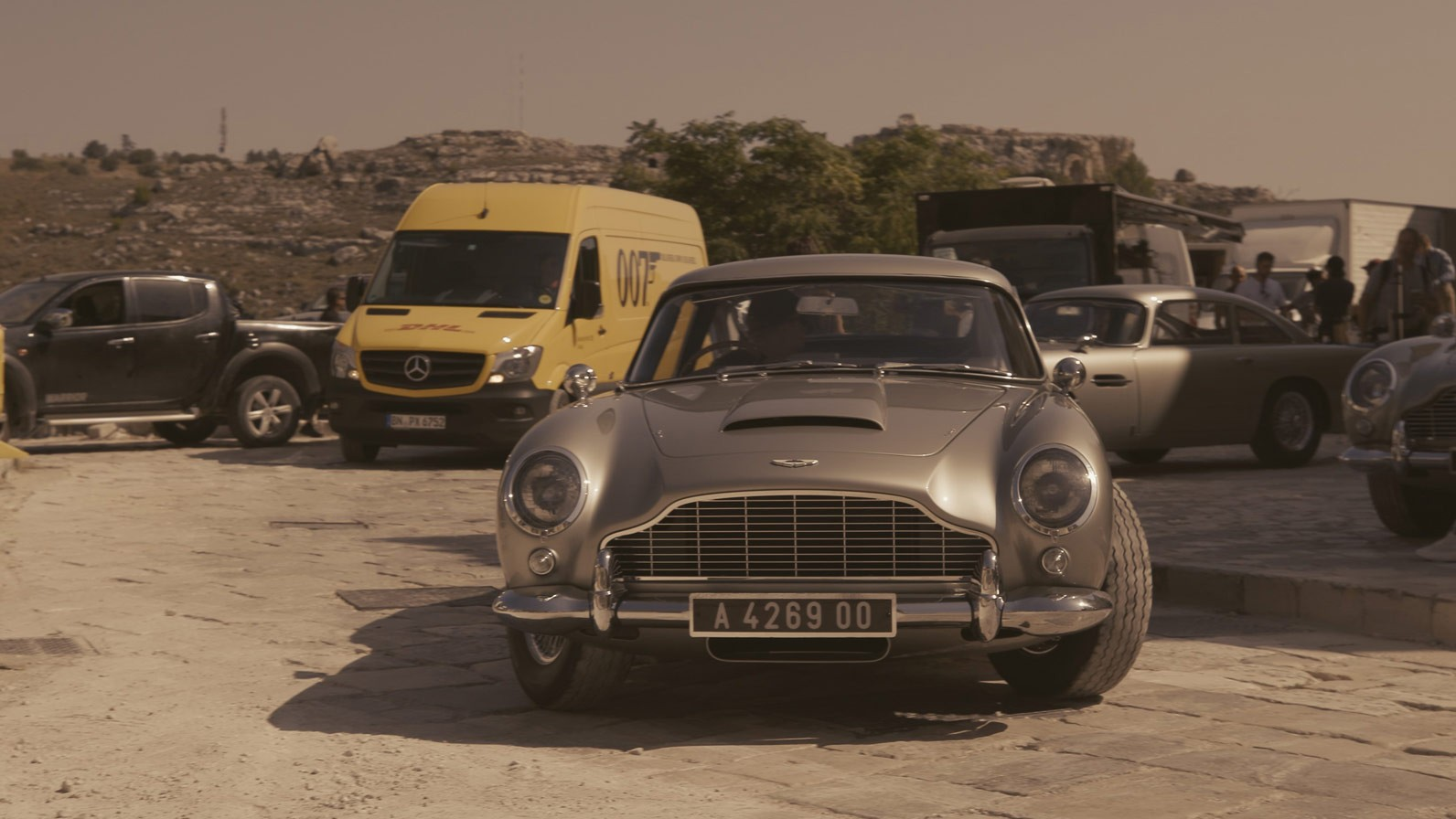 "Licence to deliver: DHL on duty for the 25th James Bond film, ""No Time to  Die"" -"