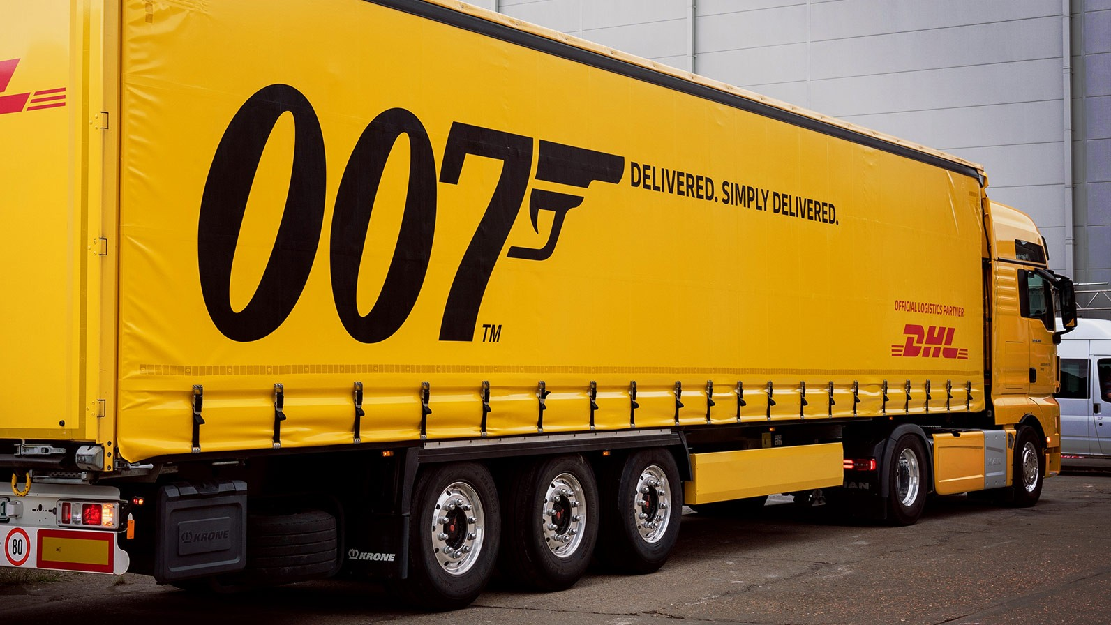 "Licence to deliver: DHL on duty for the 25th James Bond film, ""No Time to Die"" - Brand Spur"