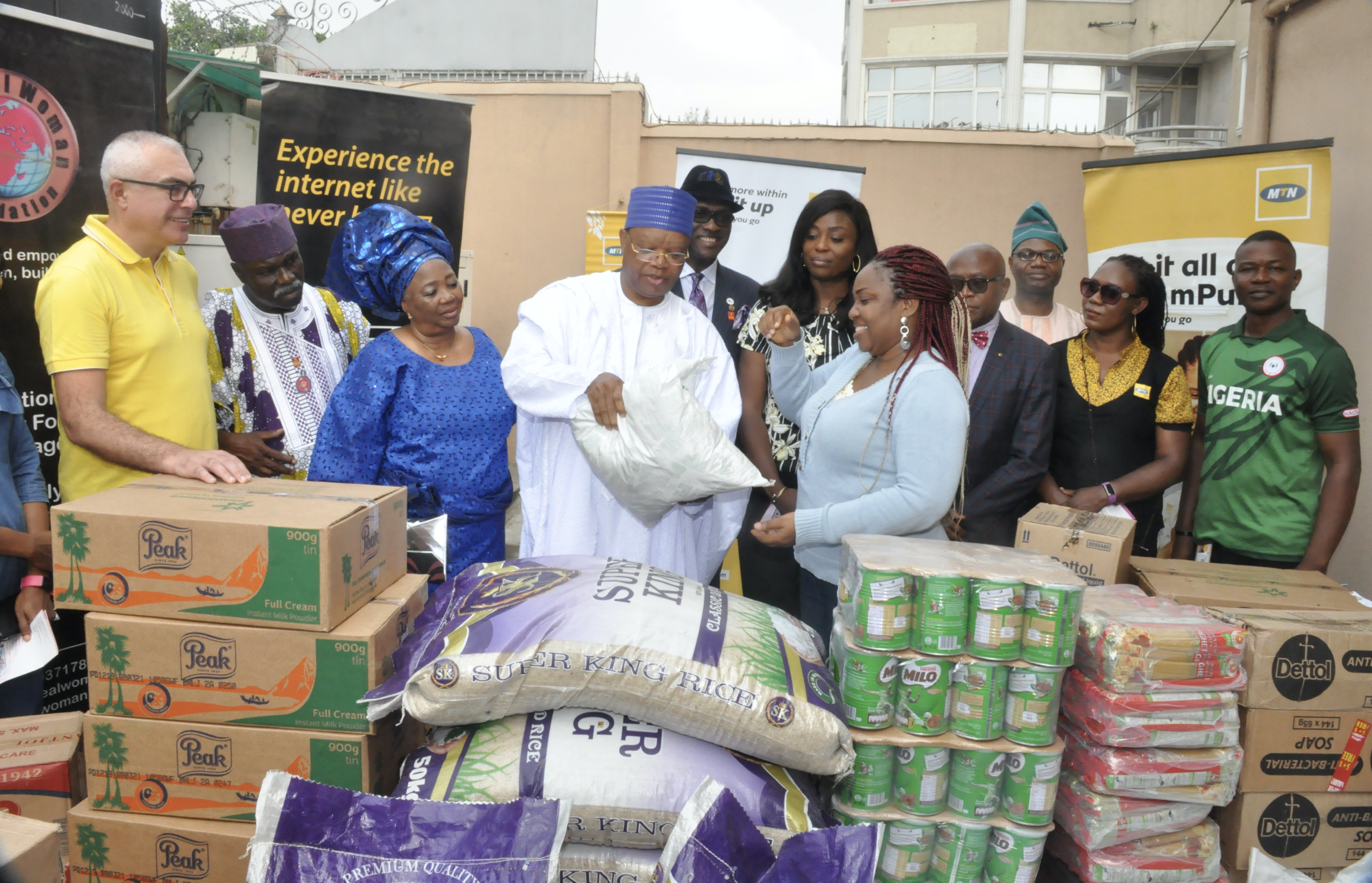 MTN Foundation Donates to Orphanages and Correctional Centres across Nigeria - Brand Spur