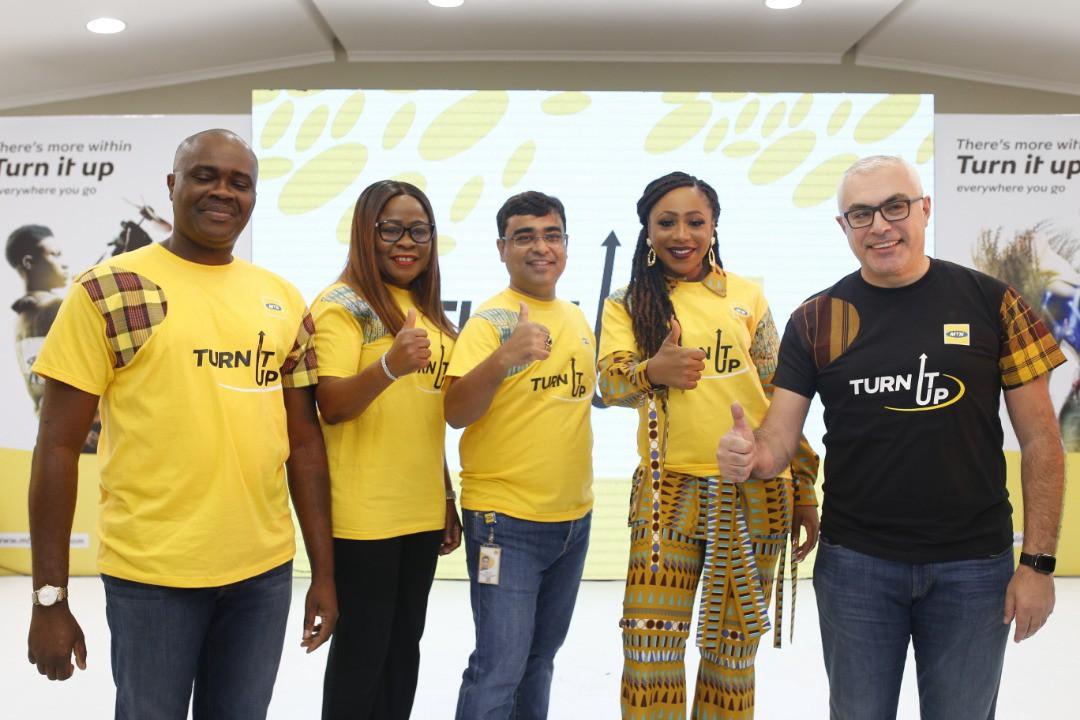MTN Nigeria set to 'Turn It Up' in the new Decade (Photos)