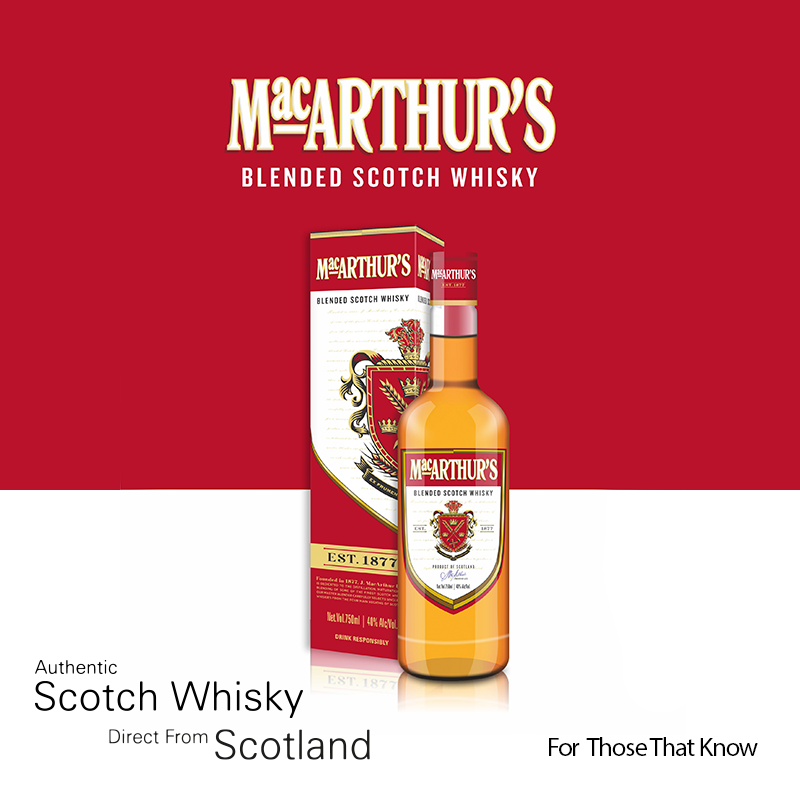 What is an Authentic Scotch Whisky? MacArthur's has the Answer