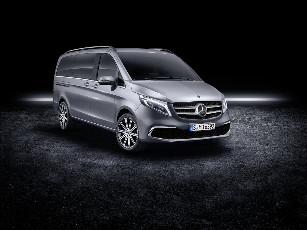 Make your move with the new Mercedes-Benz V-Class (Photos)