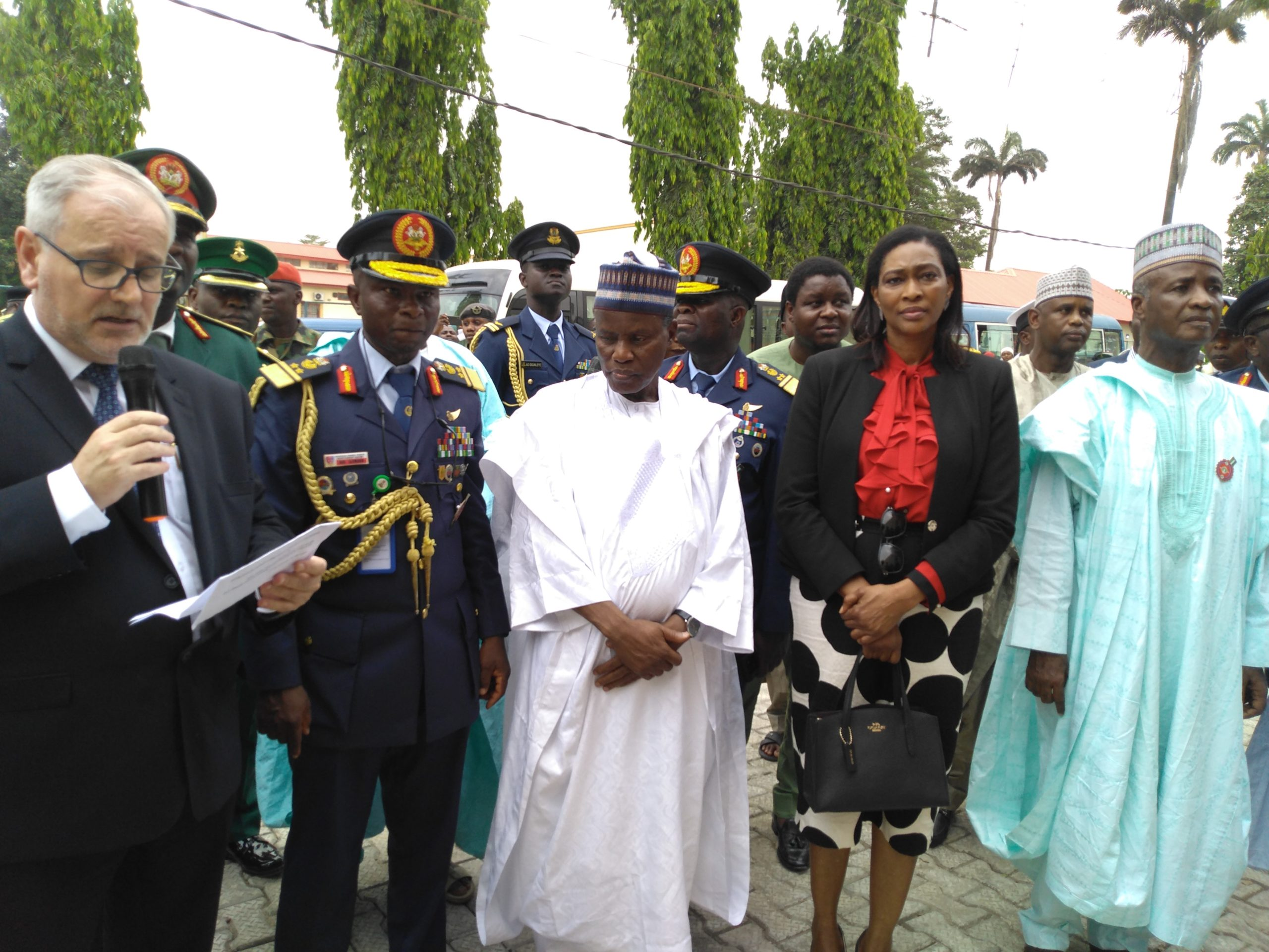 Mouka Celebrates Armed Forces Remembrance Day