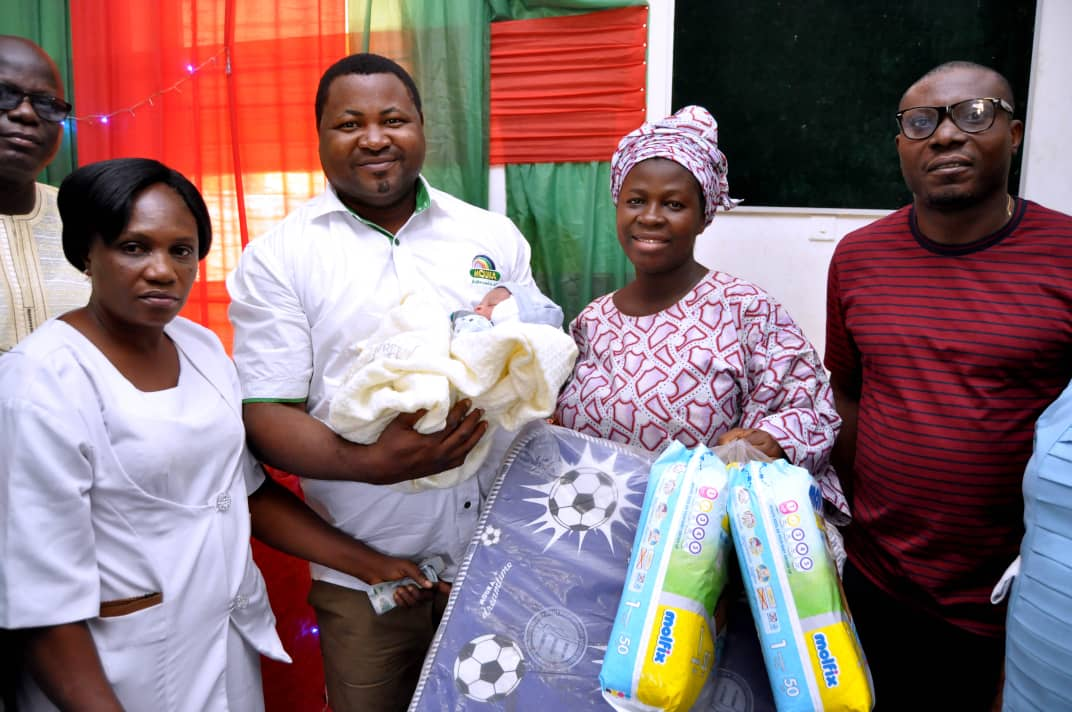 Mouka Joins Sanwo-Olu's Wife in Welcoming New Year Day Babies - Brand Spur