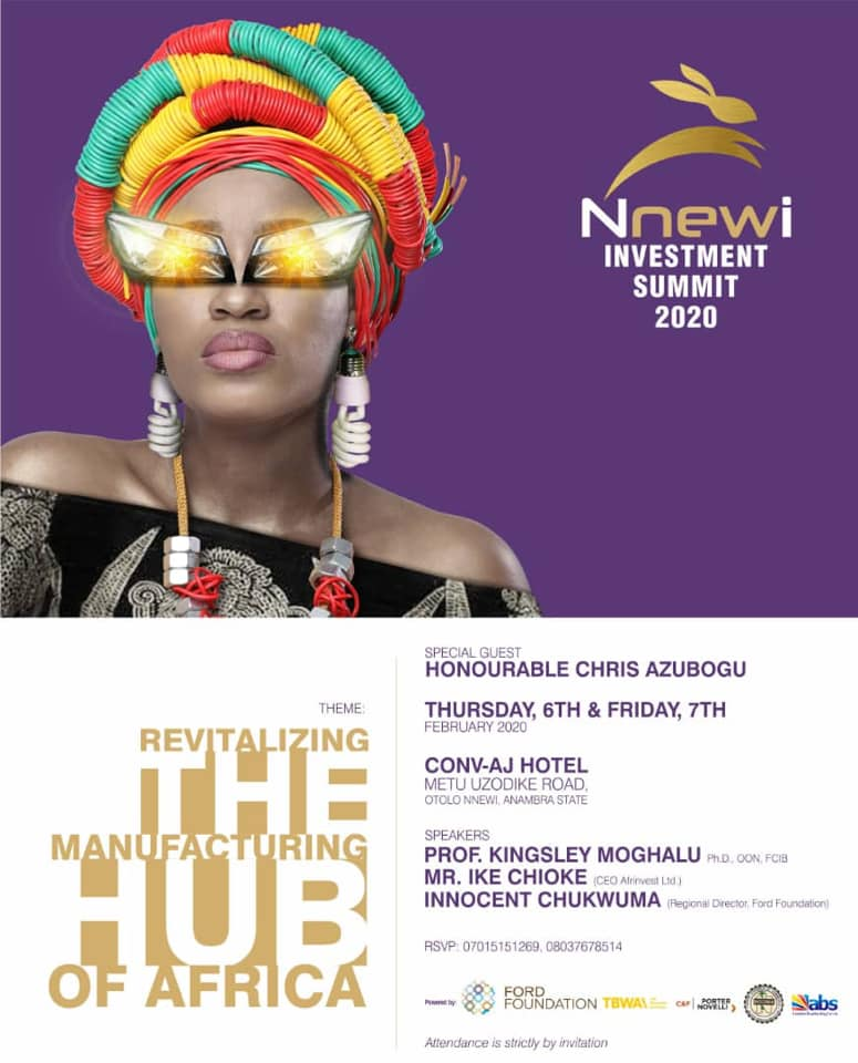 Nnewi Investment Summit to Hold February 6th and 7th - Brand Spur