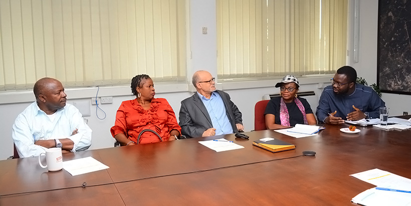 Osun State Commissioner of Agriculture visits IITA to seek collaboration
