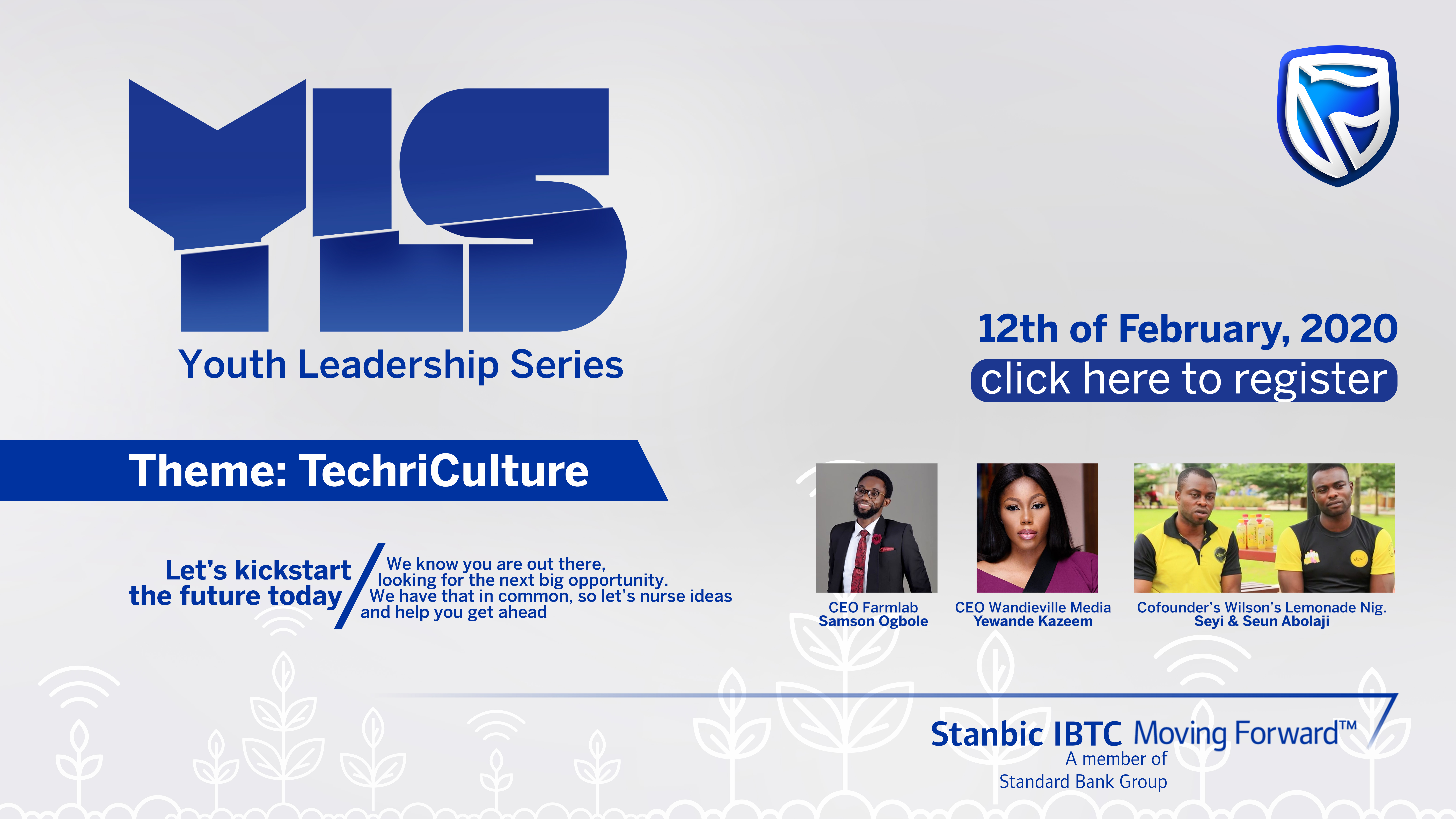 Stanbic IBTC Sets To Hold Third Edition Of Youth Leadership Series.
