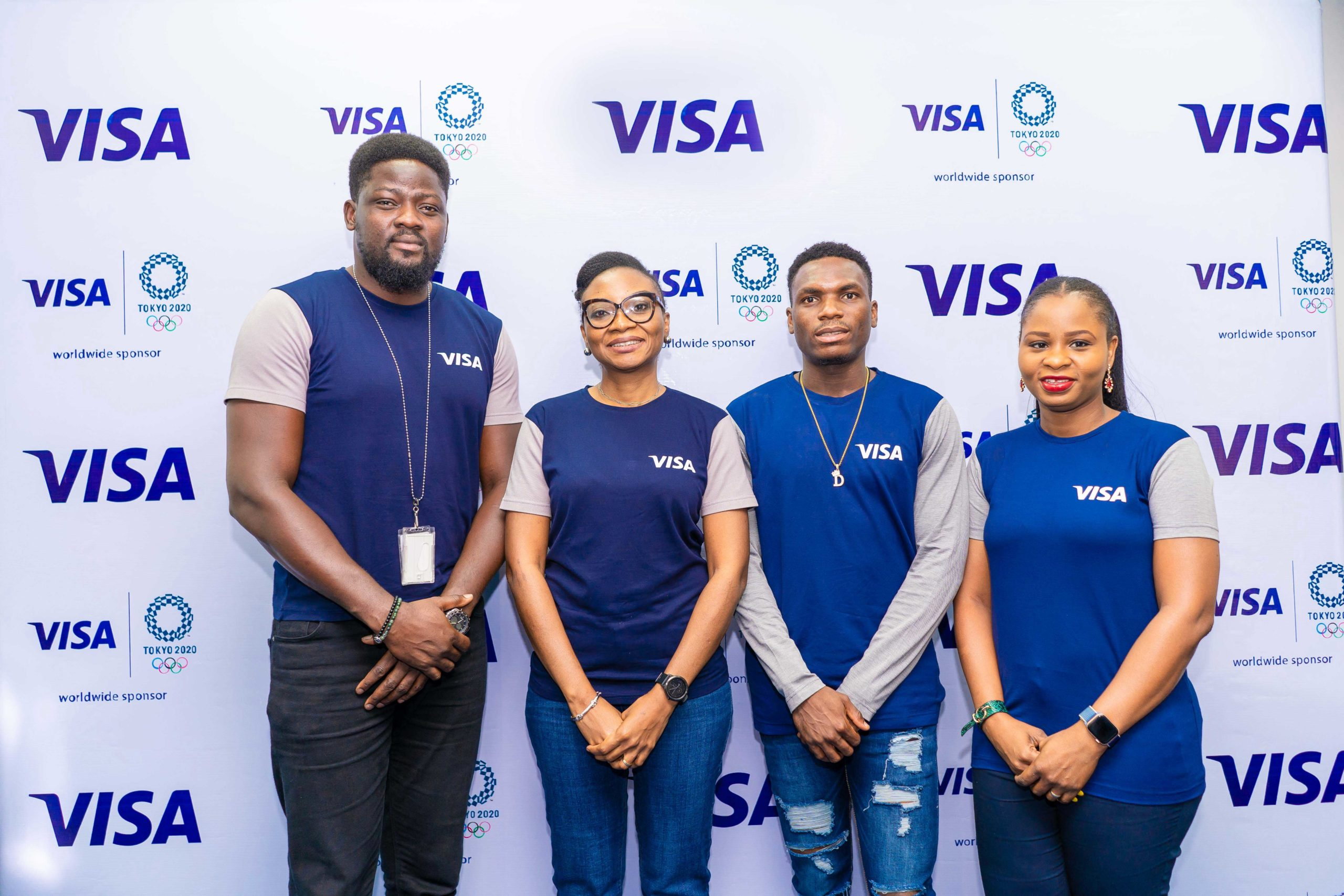 Team Visa Welcomes Nigerian Track and Field Sprinter Divine Oduduru to their Tokyo 2020 cohort - Brand Spur