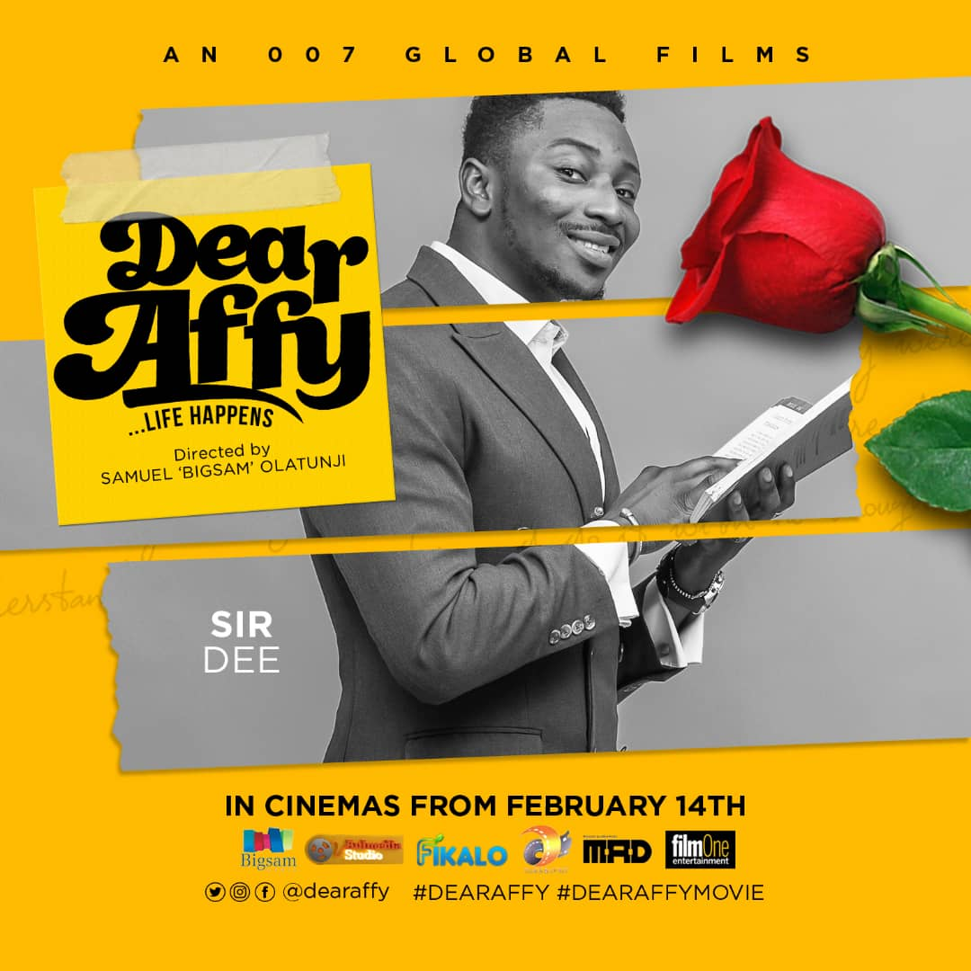 Bigsam unveiled new character posters for the casts of the movie 'Dear Affy' - Brand Spur