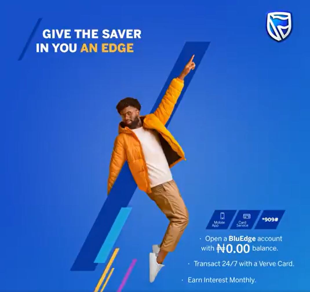 Stanbic IBTC Zero Balance Account Gives Savers an Edge - Brand Spur