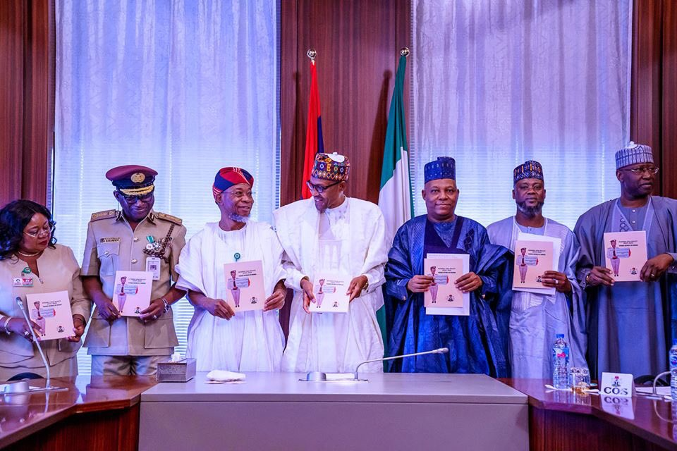 Buhari officially present to public, Nigeria visa policy (Photos) - Brand Spur
