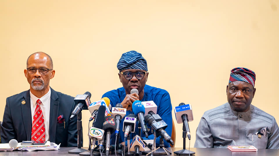 CORONAVIRUS: Sanwo-Olu urges Residents not to Panic, says Patient 'In Stable Condition' - Brand Spur