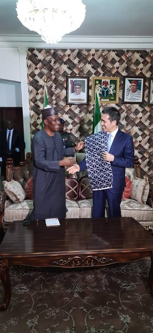 Chinese Ambassador visits Taraba State; Plans to Collaborate with the Government - Brand Spur