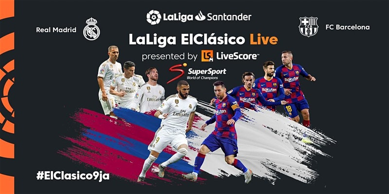 ElClásico arrives for the first time in Lagos  in an event for LaLiga fans - Brand Spur
