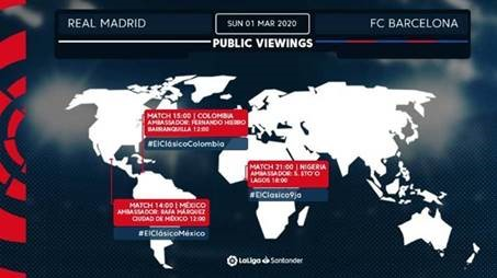 ElClasico Lands In Madrid Supported By The Best Technology - Brand Spur