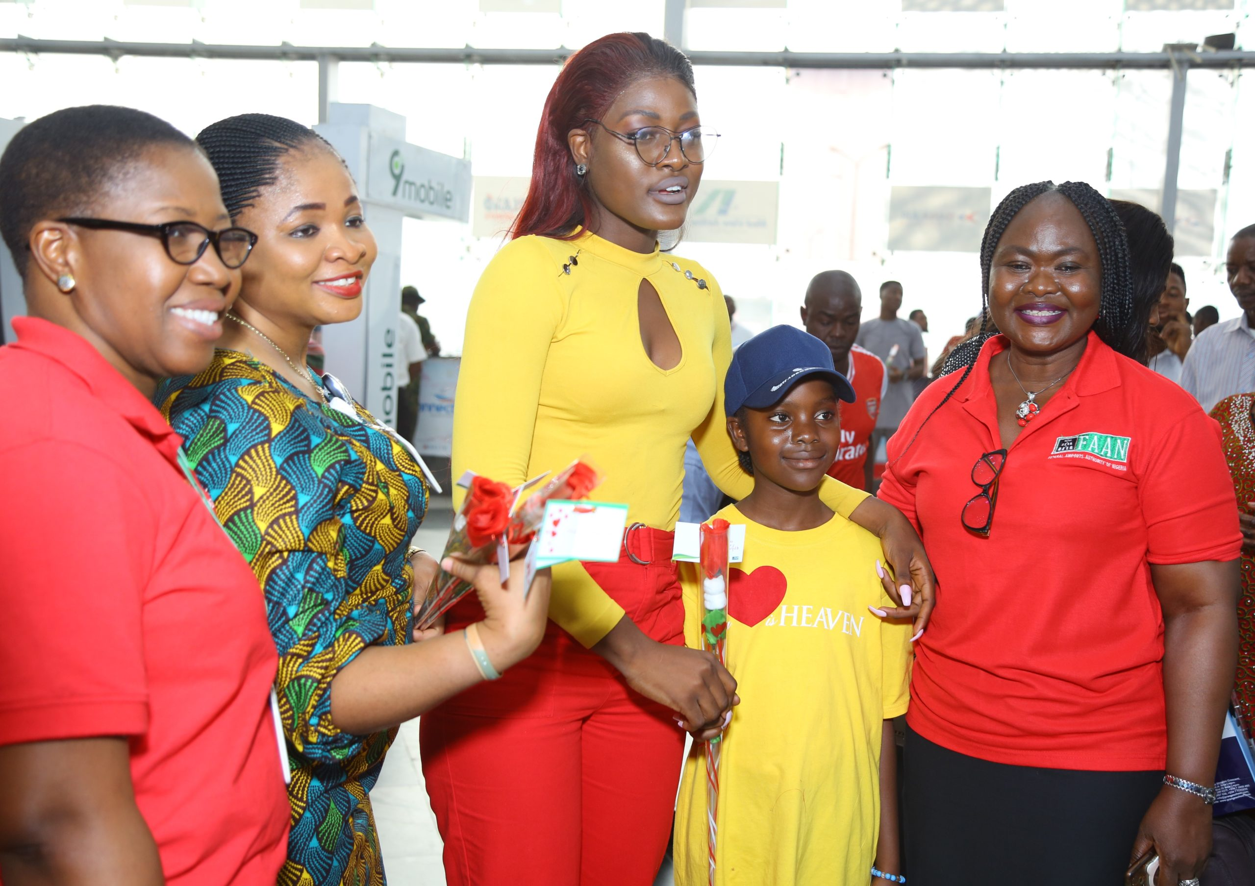 FAAN spreads love to Travelers on Valentine's Day (Photos) - Brand Spur