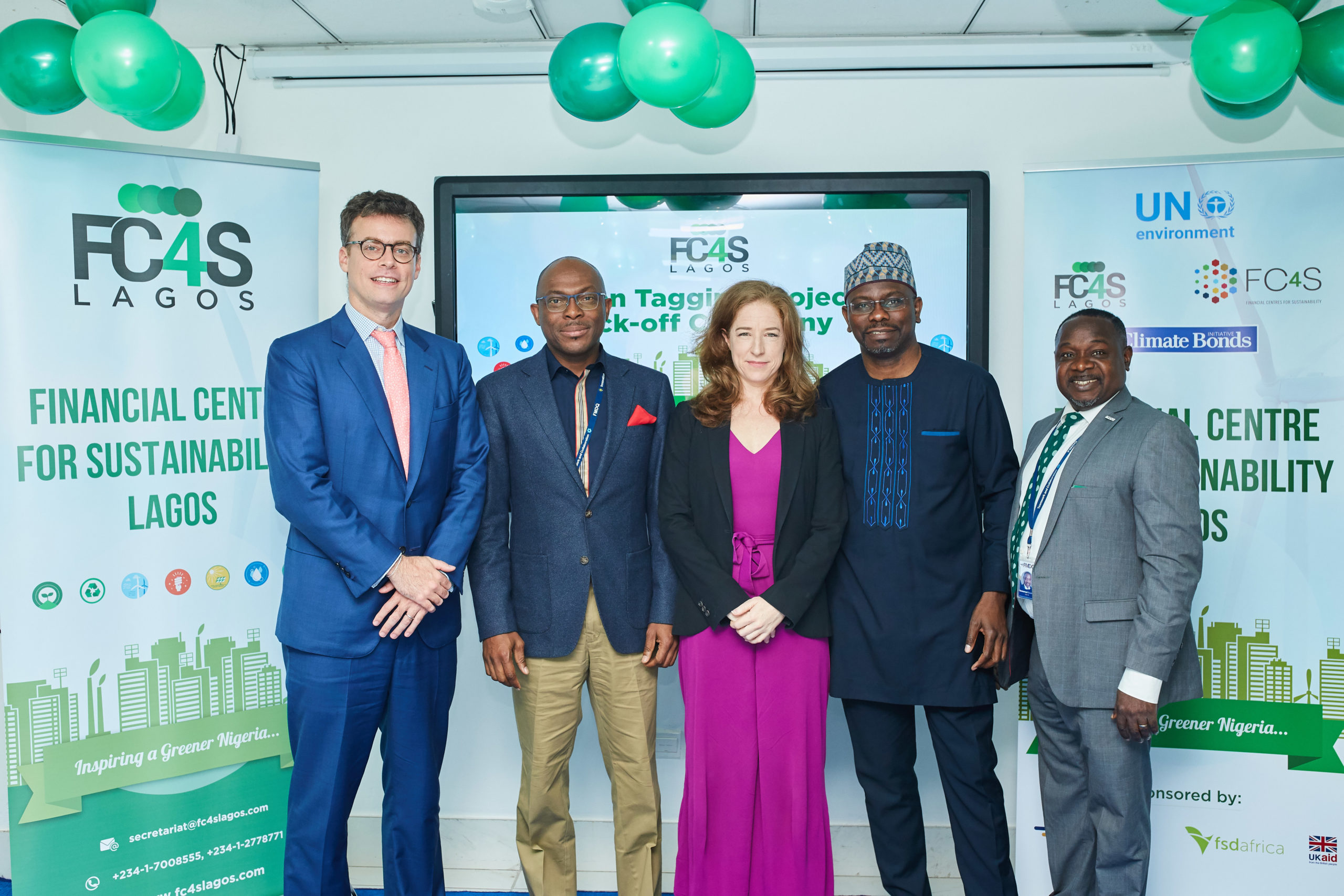 FMDQ, FC4S Lagos, UNEP, Others Kick-Off the Nigerian Green Tagging Project