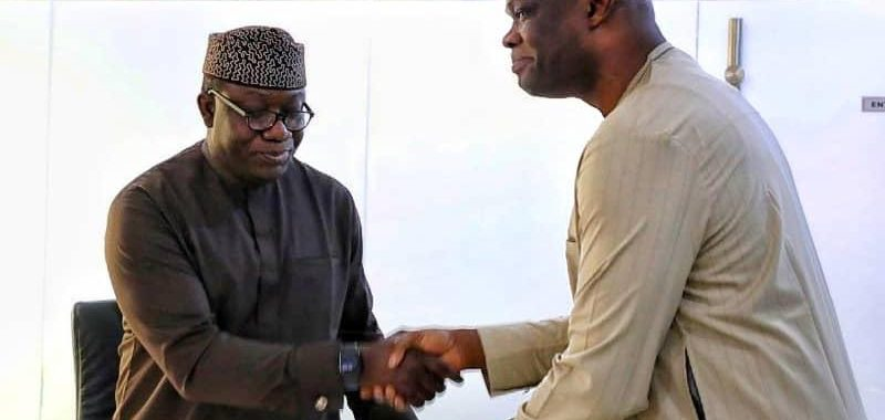 Governor Fayemi Receives A Draft Legal Framework For Amotekun In Ekiti - Brand Spur