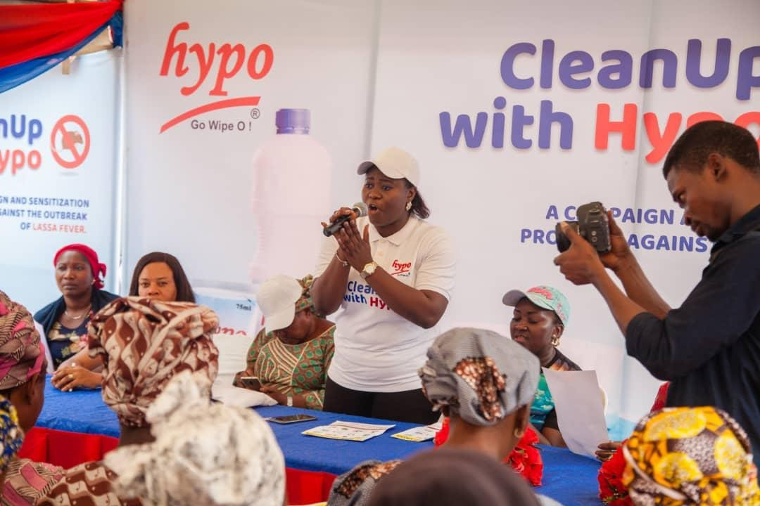 Hypo Partners NCDC To Curb Lassa Fever & Promote Hygiene In Nigeria (Photos) - Brand Spur