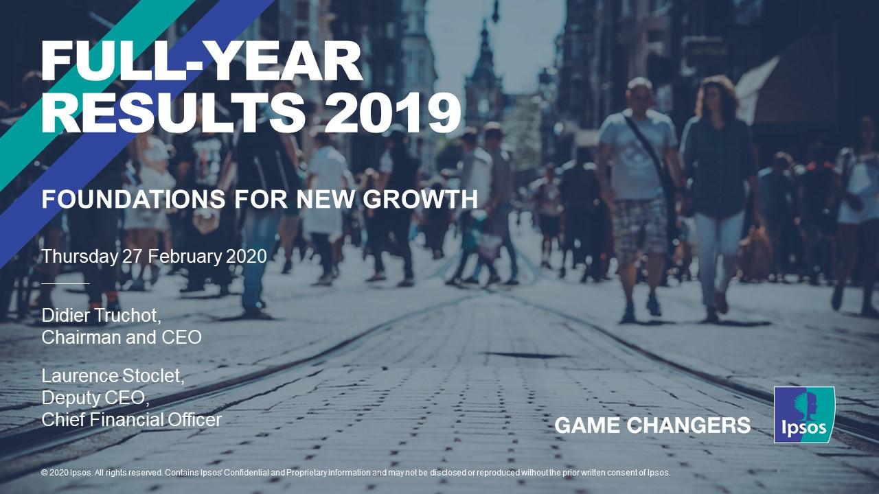 Ipsos in 2019: Revenue Exceeds €2bn But Warns on Coronavirus Effect For 2020
