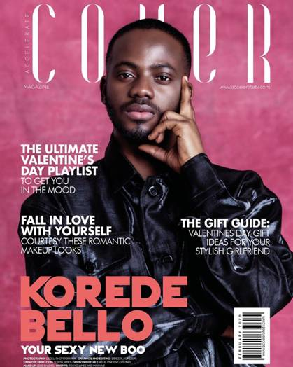 Accelerate's The Cover: Korede Bello, Your Sexy New Boo - Brand Spur