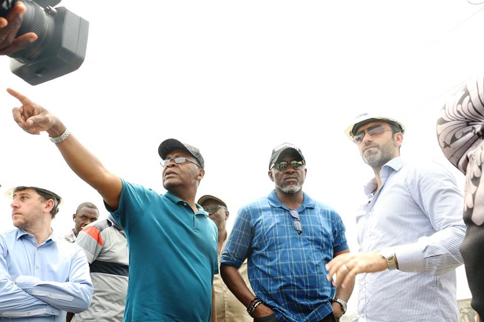 Ahead Of The Rains: LASG Inspects Ongoing Drainage Clearing, Dredging Projects (Photos) - Brand Spur