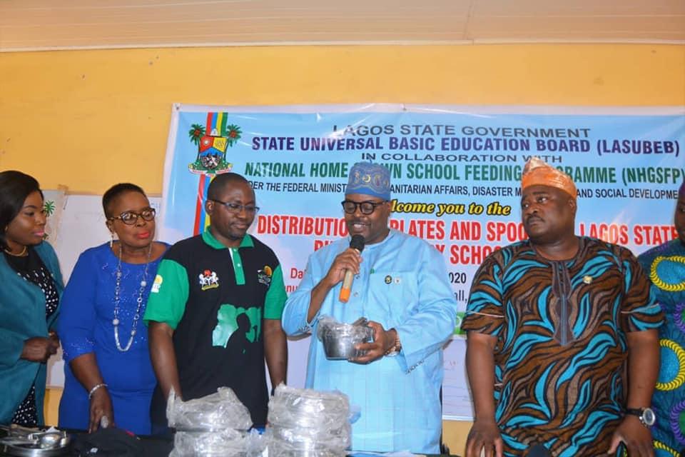 FG, LASG Reiterates Commitment to School Feeding Programme - Brand Spur