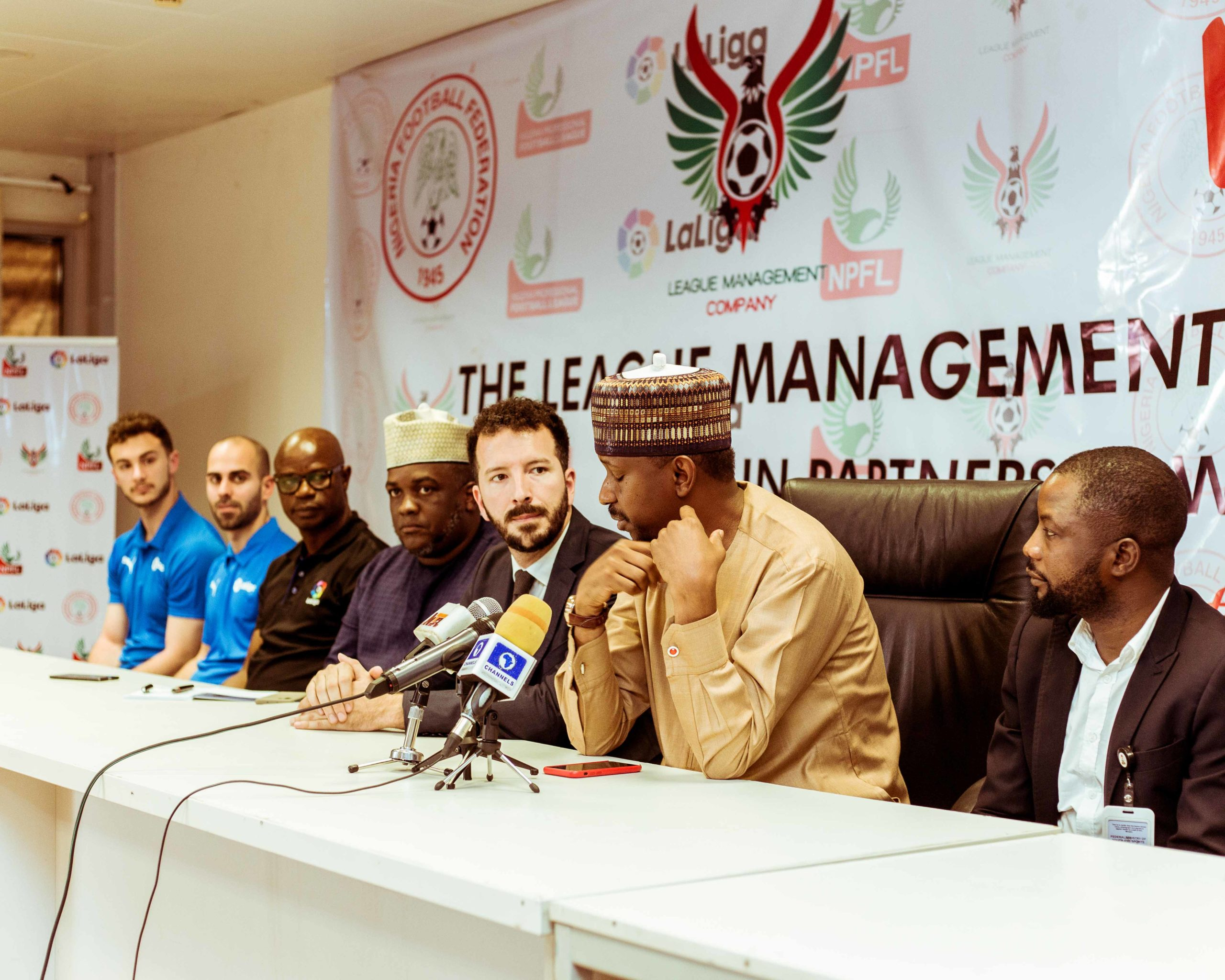 Nigerian Youth Coaches set for 4th Edition of the NPFL-LaLiga Coaching Clinic - Brand Spur