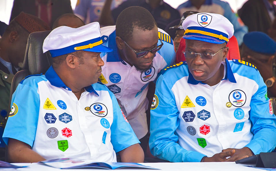 TRAFFIC: Lagos begins Commercial Water Transportation, as Sanwo-Olu launches new Speed Boats - Brand Spur