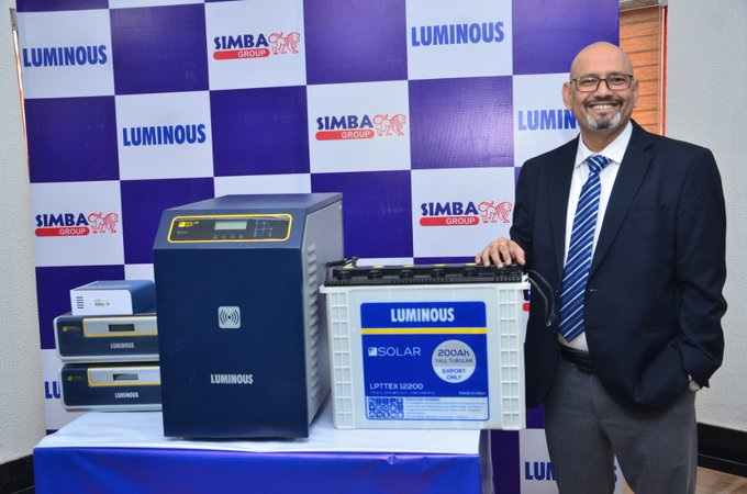 Luminous Introduces Solar Tall Tubular Batteries; Offers 24 months Warranty (Photos) - Brand Spur