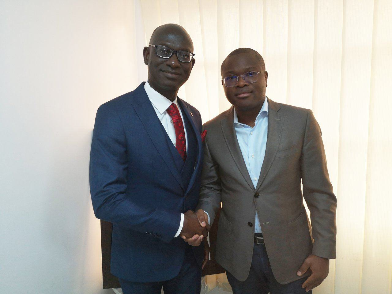 Newly Appointed CEO/MD Of UBA Benin Pays Courtesy Visit To Some Officials Of Benin Republic - Brand Spur