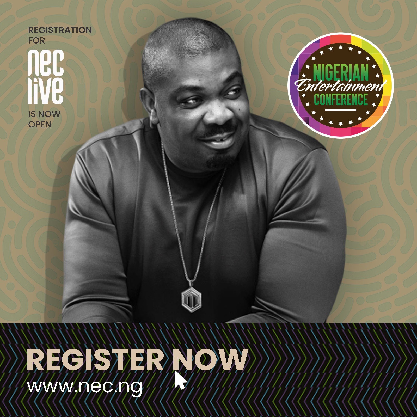 Registration Now Open for 8th Edition of Nigerian Entertainment Conference (NECLive) - Brand Spur