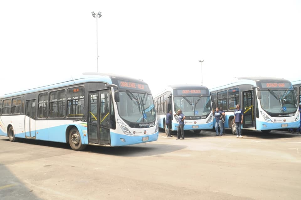 LASG Rolls out 65 Buses as Palliative Measures...to inject 550 Buses For Feeder Routes (Photos) - Brand Spur