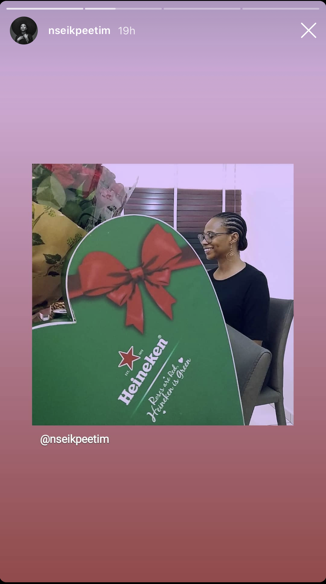 It's The Month Of Love! Peep The Special Surprises Your Faves Received From Heineken! - Brand Spur