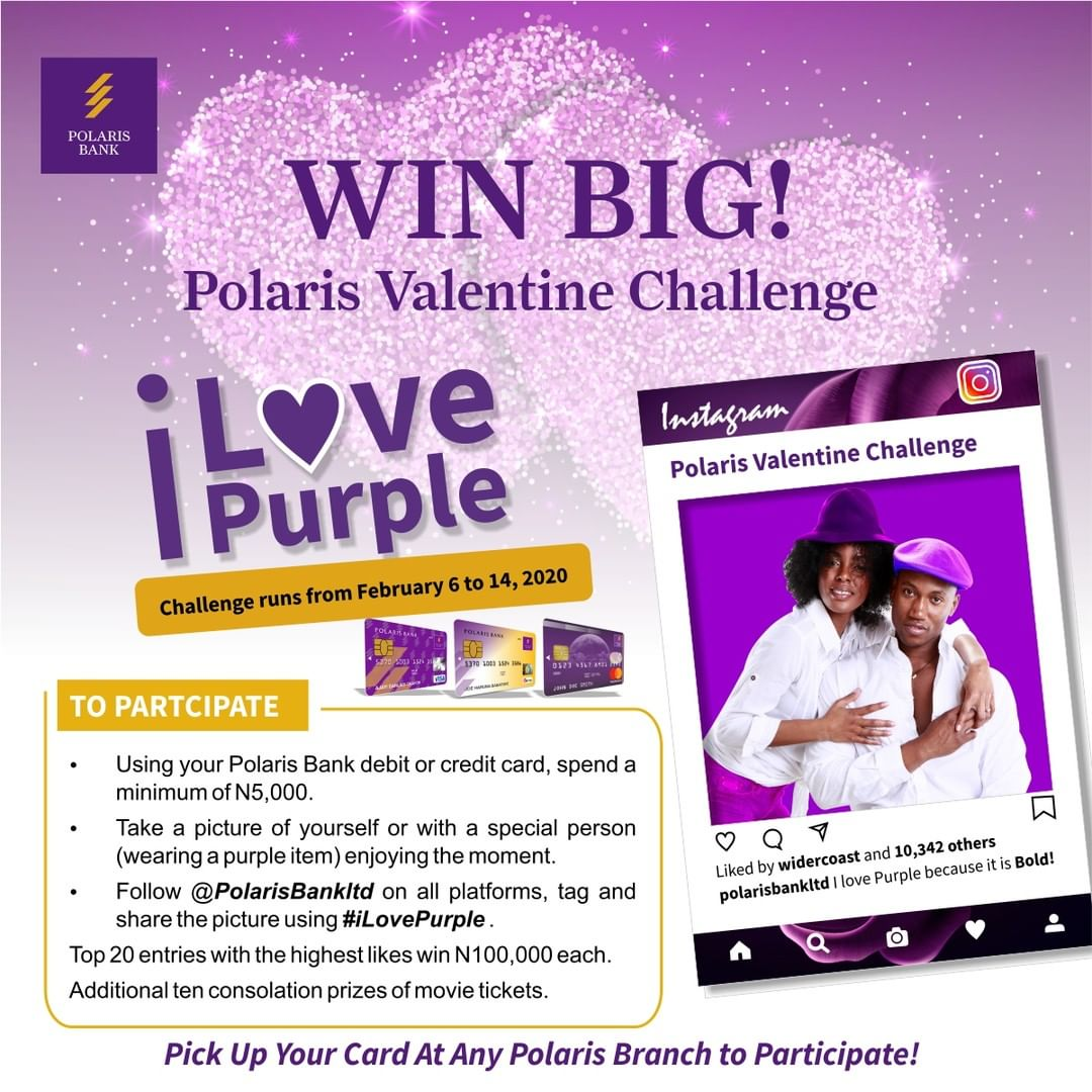 Win Big in Polaris Valentine's Day Challenge!!! N2Million Naira for Grabs - Brand Spur