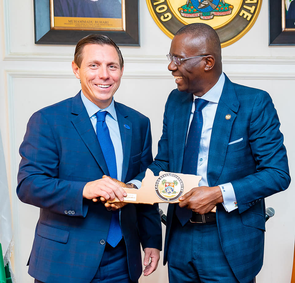 Sanwo-Olu, Canadian Mayor Discuss Bilateral Cooperation in Technology, Food Security - Brand Spur