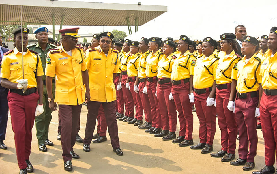 TRAFFIC GRIDLOCK: Lagos Inducts 1,017 New LASTMA Officers - Brand Spur