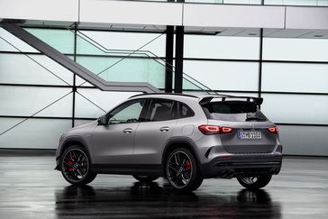 The New Mercedes-AMG GLA 45: The Performance SUV To Suit Any Lifestyle