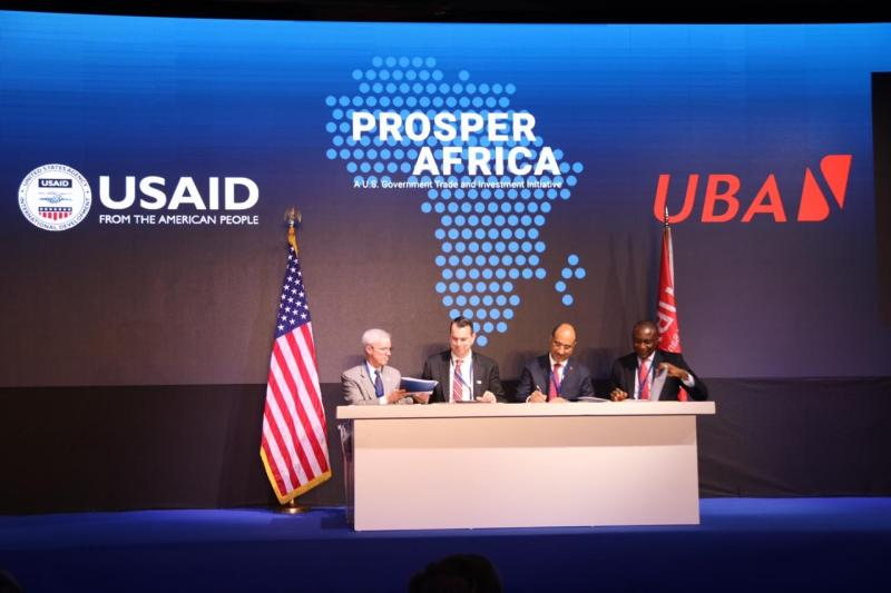 USAID and UBA sign MOU To advance the two-way trade and investment goals of prosper Africa - Brand Spur