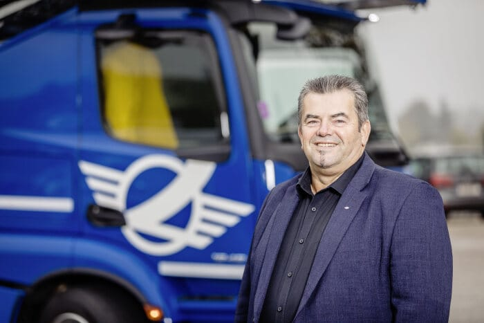 A multi-award-winning and successful operator – the new Actros is the truck for the 2020s - Brand Spur