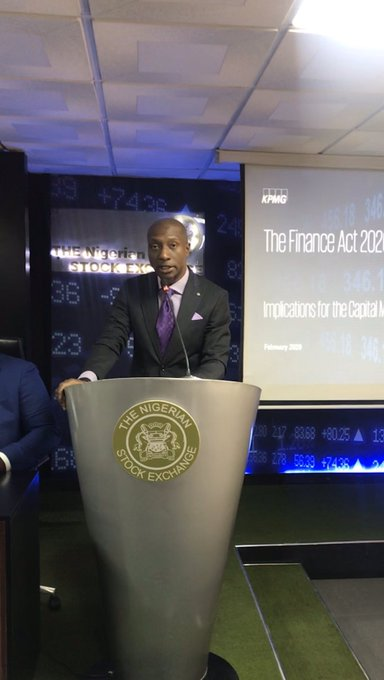 ​NSE, KPMG Highlight Implications of the Finance Act 2019 on Capital Market - Brand Spur