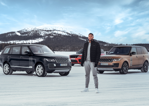 50 Years Of Range Rover: Land Rover And Anthony Joshua Celebrate Golden Jubilee For Luxury Suv With Unique Snow Art