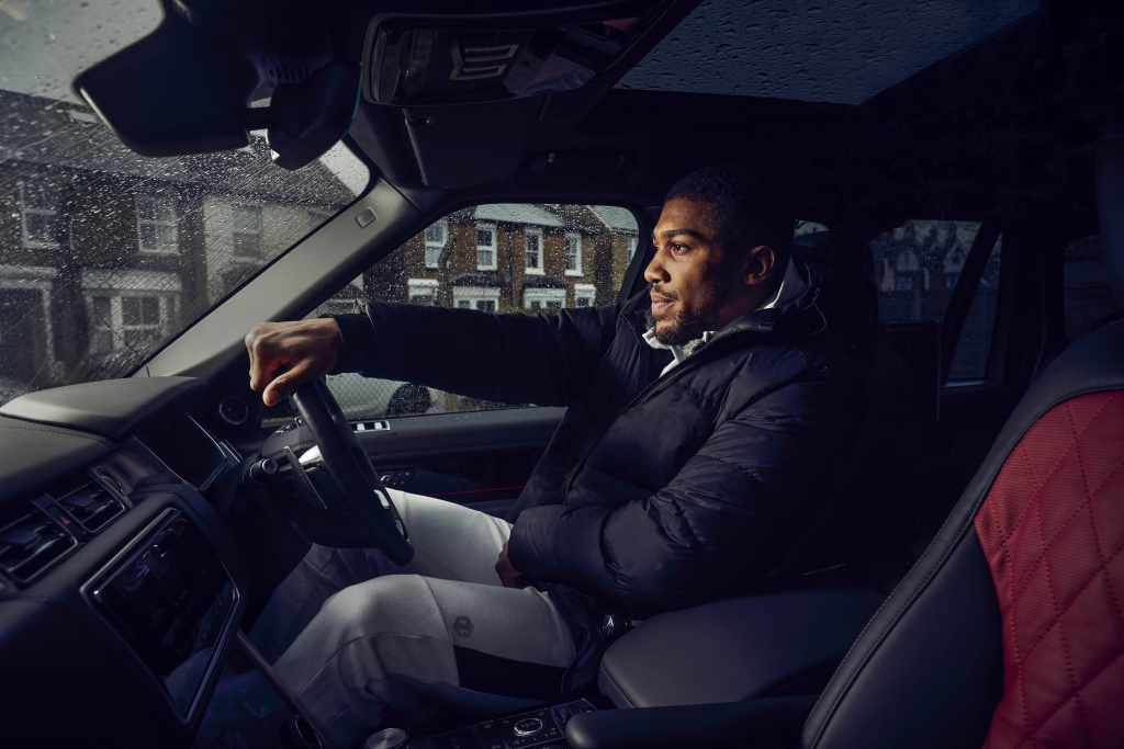 World Heavyweight Champion Anthony Joshua Gets Fight-Ready with Bespoke Range Rover SVAutobiography (Photos) - Brand Spur