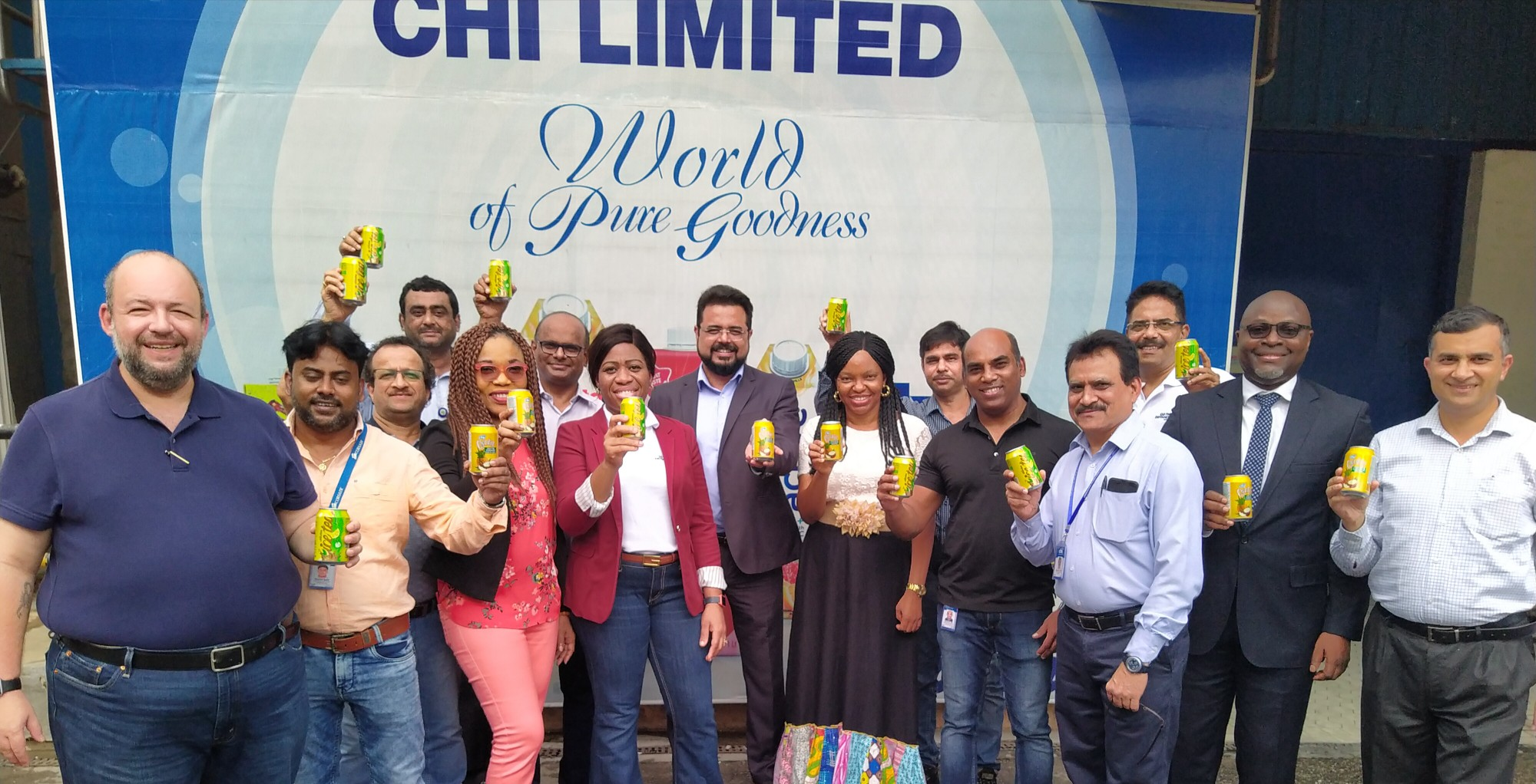 Chi Limited Launches Chi Exotic & Chivita Ice Tea in Cans (Photos)