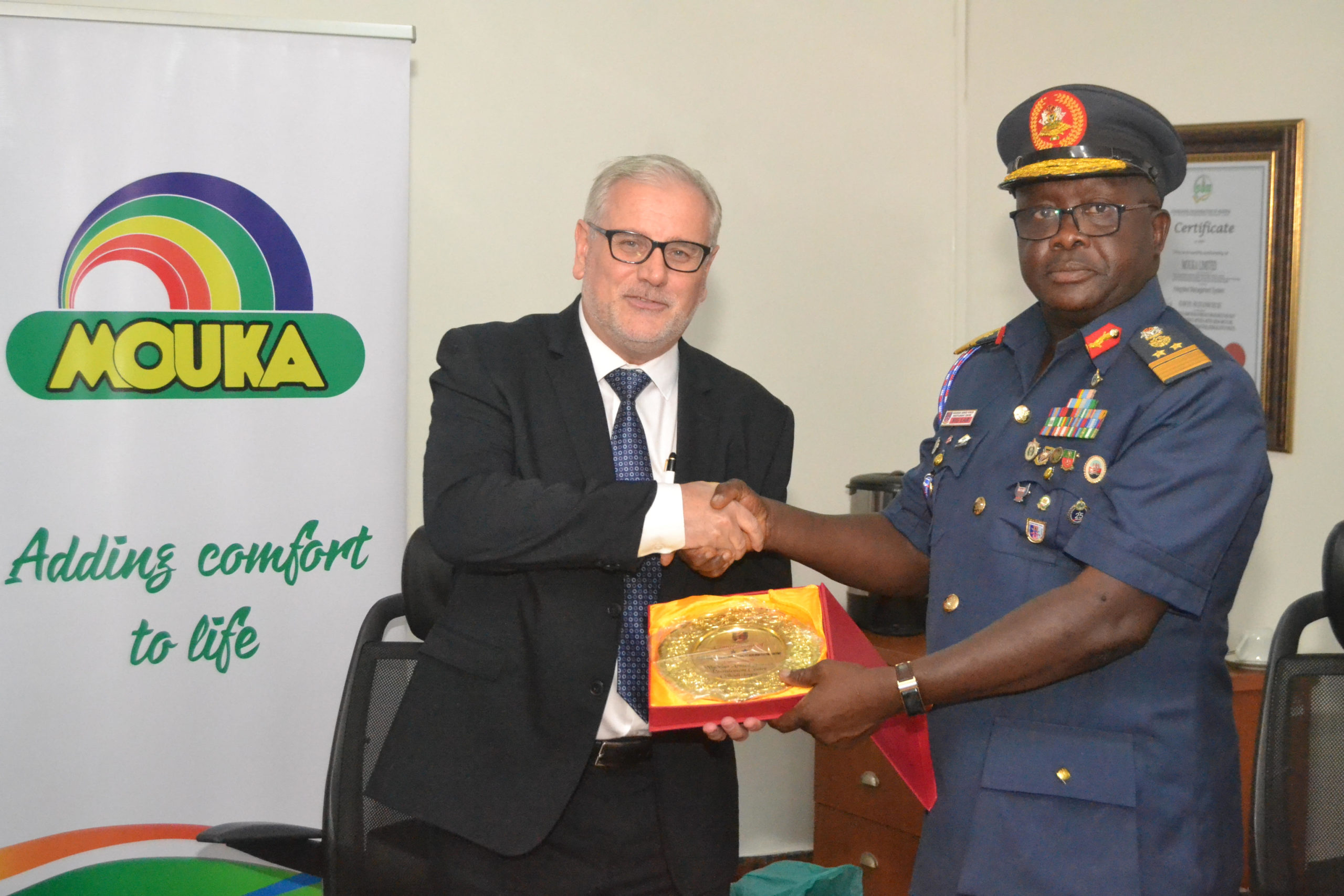Commandant Of Nigeria Armed Forces Resettlement Centre Visits Mouka To Strengthen Ties As Company Celebrates World Sleep Day - Brand Spur