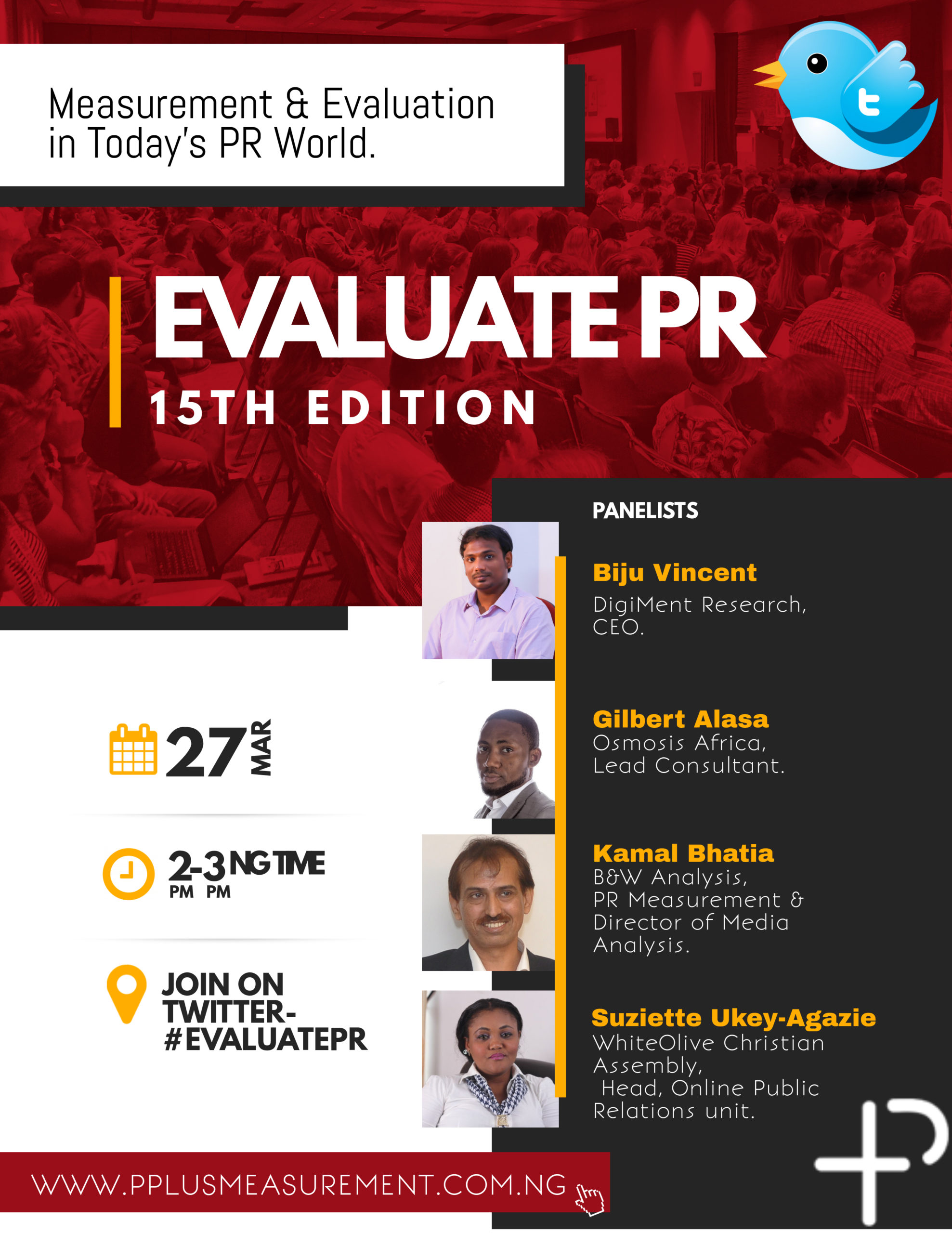 PR And Measurement Experts To Share Thoughts At The 15th Edition Of #EvaluatePR - Brand Spur