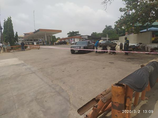 Lagos Seals Conoil Filling Station Over Environmental Infraction (Photos) - Brand Spur